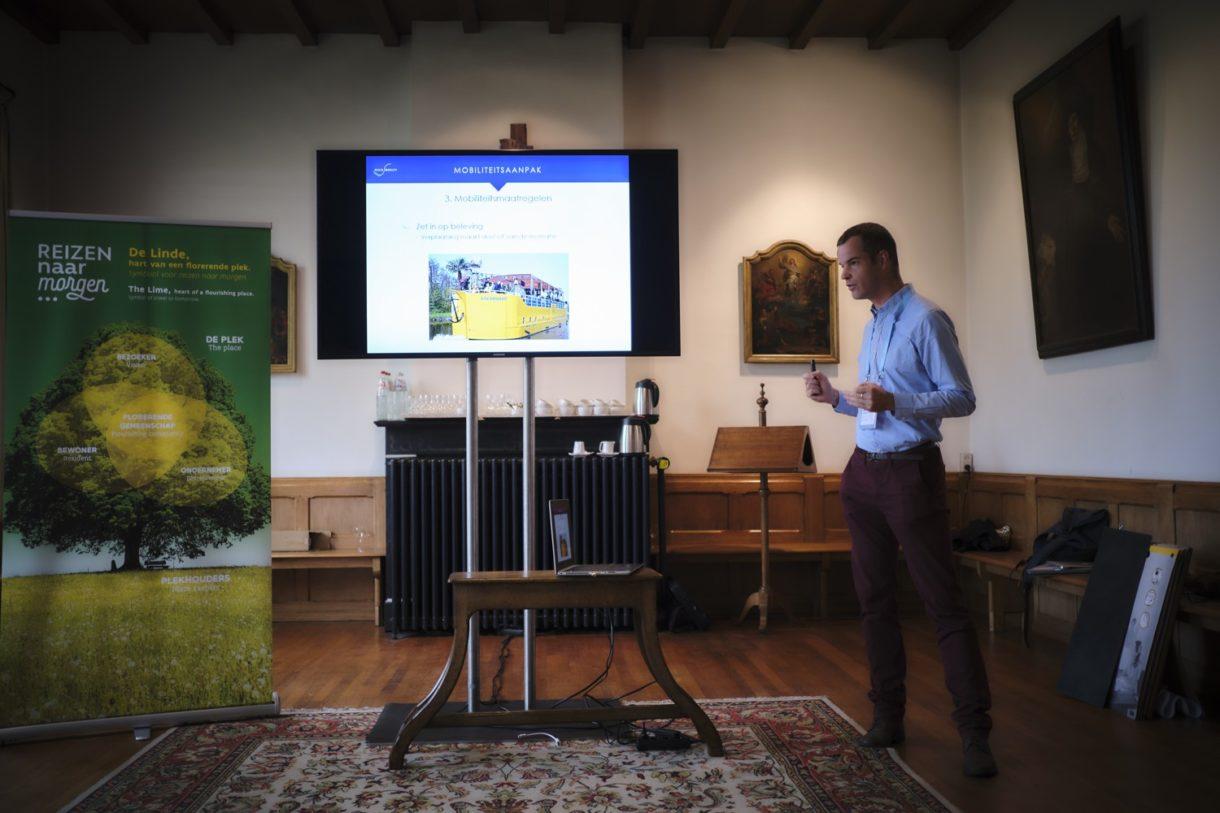 Reizen naar Morgen-summit 2019. Workshop Mobiliteit. Bart Busschaert.