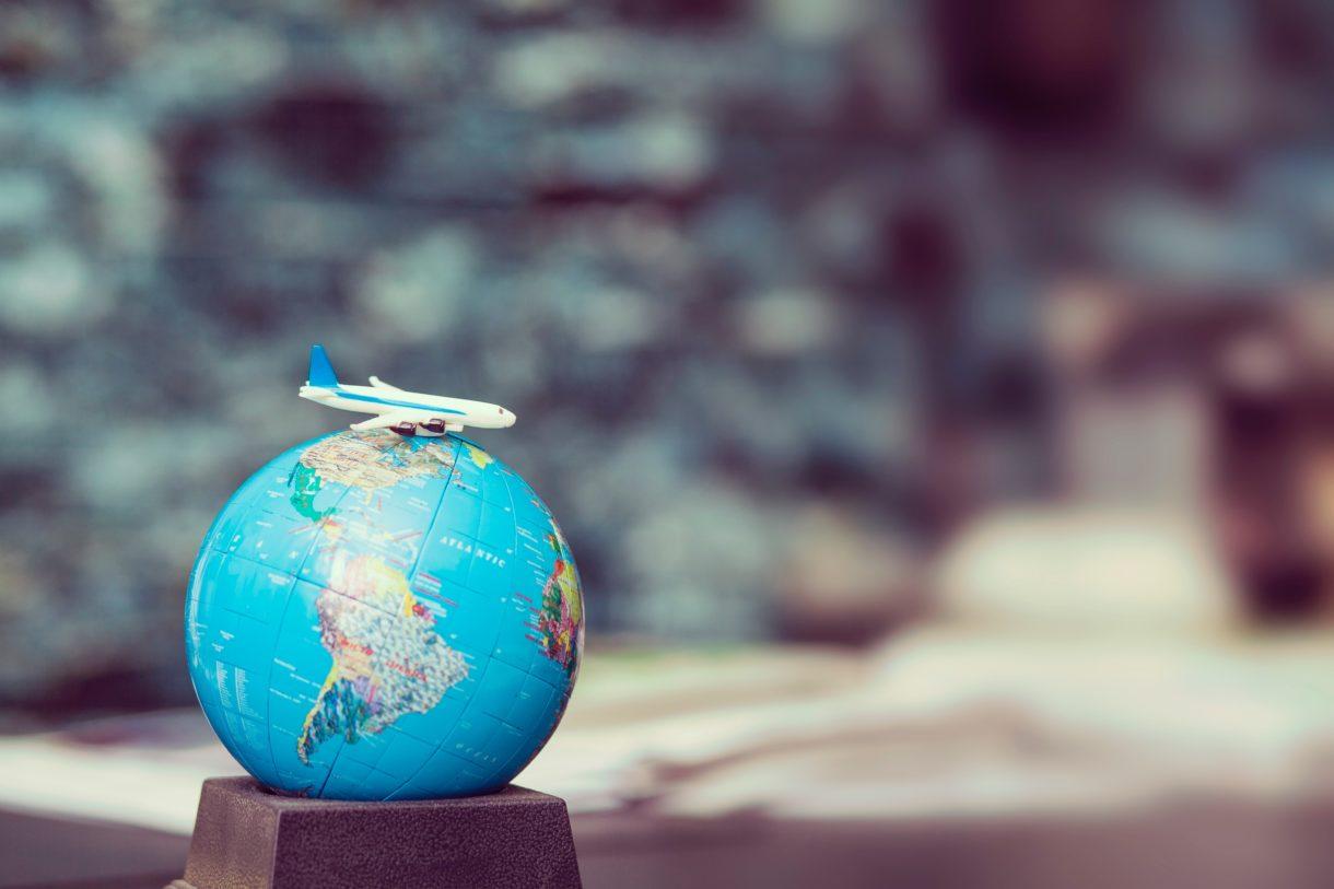 Trek virtueel de wereld rond