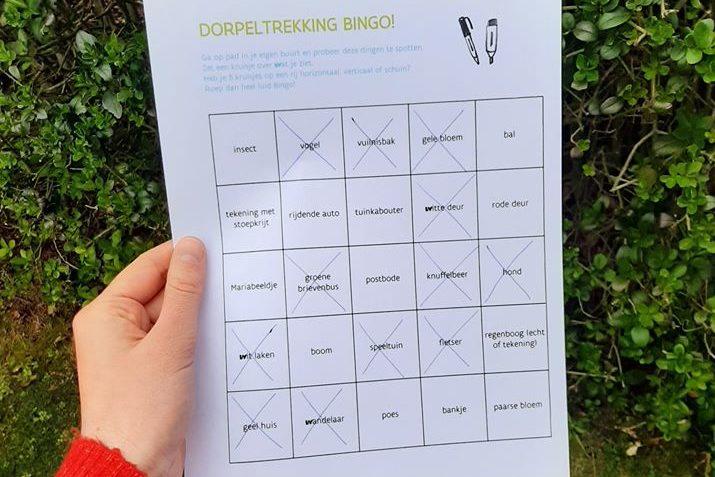 Iedereen Verdient Vakantie - Dorpeltrekking Bingo!